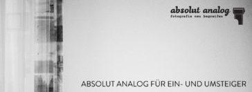 31.10.-1.11.2015: Analog-Fotoworkshop für Ein- und Umsteiger