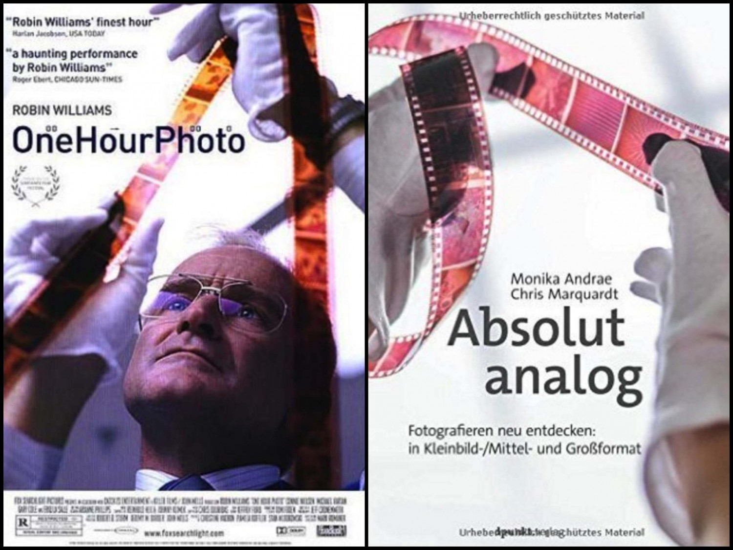 One Hour Photo und Absolut Analog
