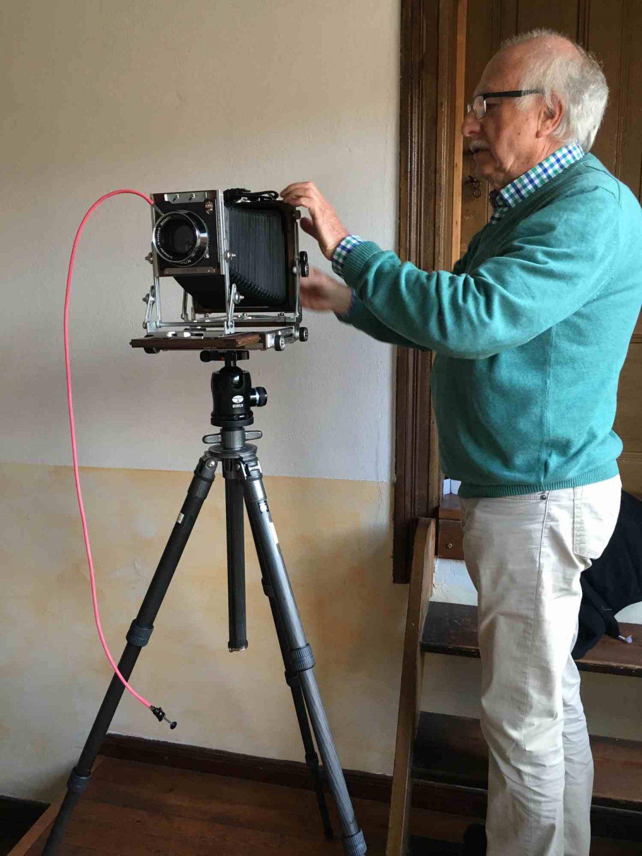 Die Großformat-Kamera Shen Hao macht eine besonders gute Figur
